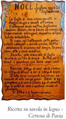 Ricetta Nocino Reggiano.Il Nocino